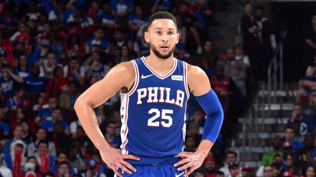 Ben Simmons NBA Playoffs