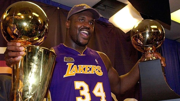 Shaquille O'Neal Championships