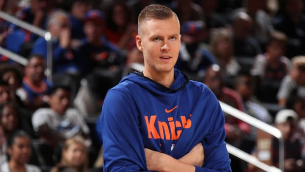 Knicks, Mavericks Agree to Blockbuster Deal Sending Kristaps Porzingis to Dallas--IMAGE