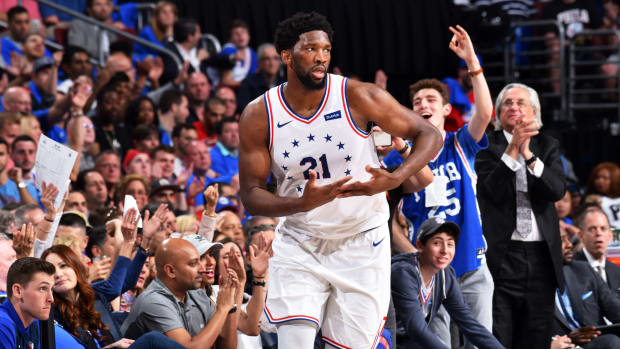 Joel Embiid Cried After Game 7 Loss To Raptors, Kawhi