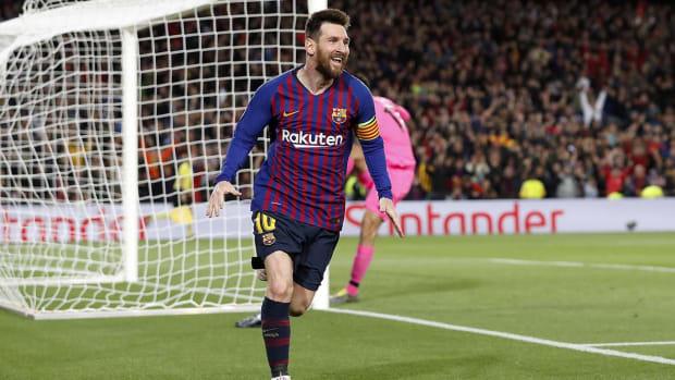 Messi vs. Liverpool