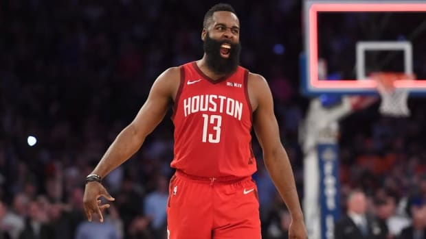 James Harden Continues Scoring Surge, Drops Career-High 61 at MSG--IMAGE