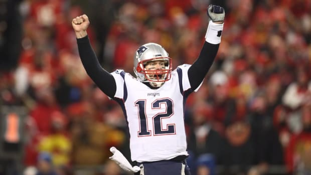 Patriots, Brady Outlast Chiefs in Overtime For Trip To Super Bowl--IMAGE