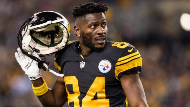 Report: Steelers May Trade WR Antonio Brown By End of the Week--IMAGE