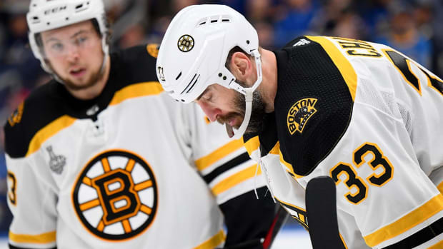 Zdeno Chara Defines Toughness in Stanley Cup Final