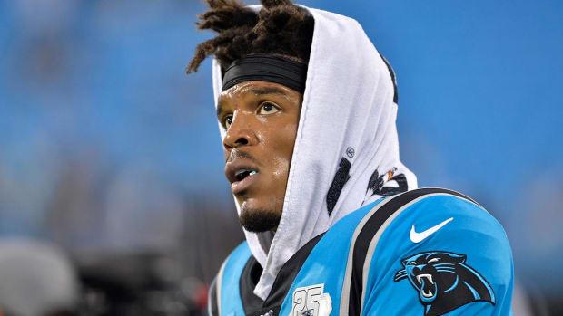 Cam Newton injury