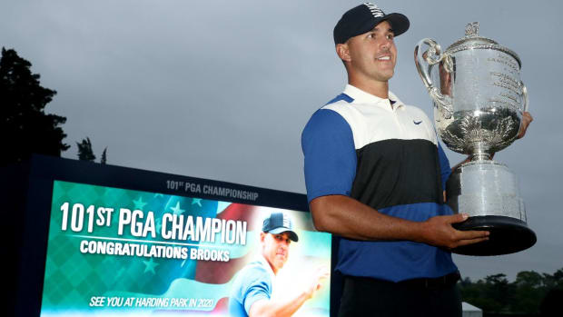Brooks Koepka Avoids Collapse to Win Second Consecutive PGA Championship  - IMAGE