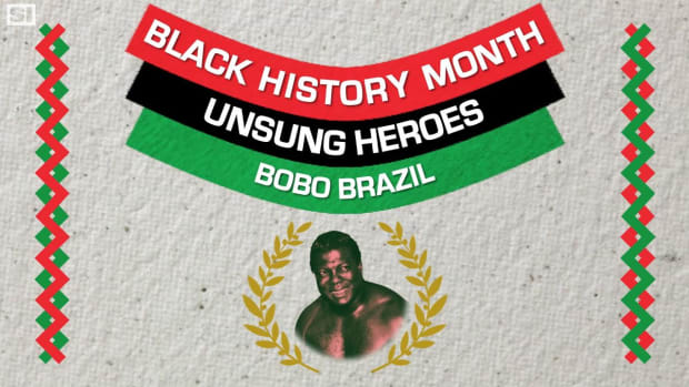 Wrestler Bobo Brazil broke barriers in the ring -IMAGE
