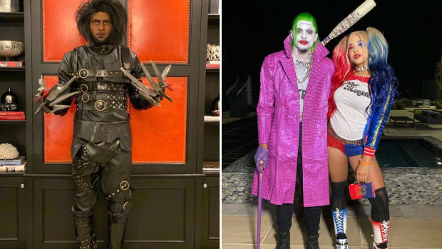 LeBron James and Bradley Beal's Halloween costumes
