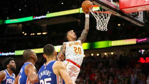 NBA DFS: John Collins 10/31