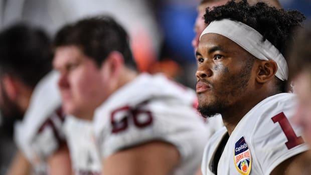 Oklahoma QB Kyler Murray Declares for 2019 NFL Draft, Despite Oakland A's Deal--IMAGE