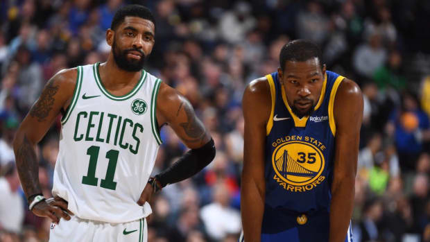Report: Kevin Durant and Kyrie Irving to Join Nets in Free Agency - IMAGE