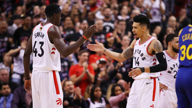 Can Pascal Siakam, Raptors' Role Players Keep Up Success Against Warriors?