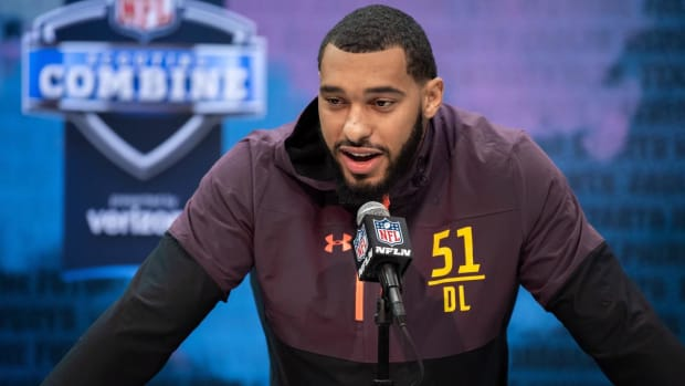 Mississippi State DE Montez Sweat Won't Attend NFL Draft Amid Heart Condition Concerns - IMAGE