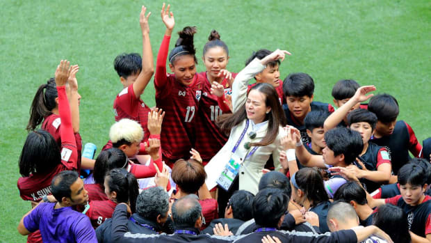 Thailand's Lone Goal in The World Cup Sparks More Emotion--IMAGE