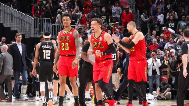 Hawks Add Hunter, Reddish to Budding Young Core