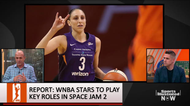 Report: 'Space Jam 2' Will Feature WNBA Stars Like Diana Taurasi, Nneka Ogwumike