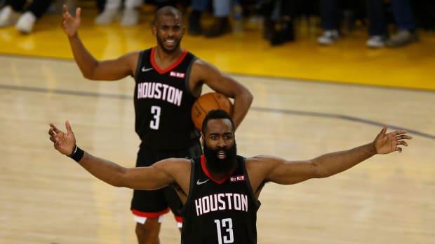 Tensions Reportedly Growing in Houston Between Chris Paul, James Harden