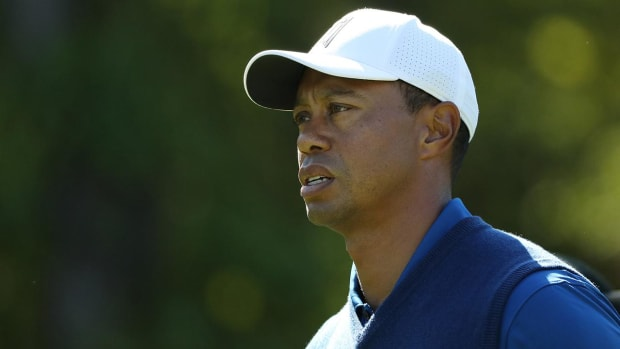 Tiger Woods Appears Drained at the PGA Championship