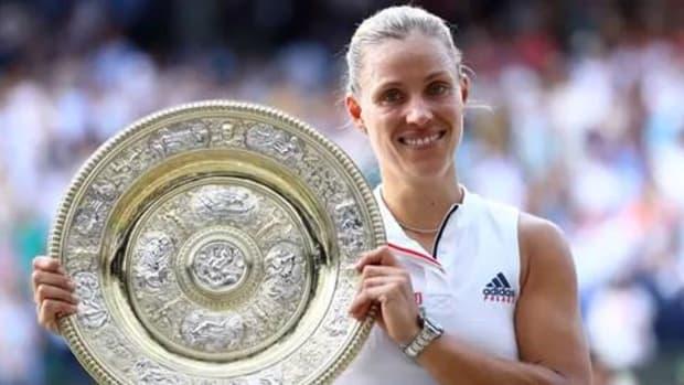 Angelique Kerber Defeats Serena Williams to Capture Wimbledon Title--IMAGE
