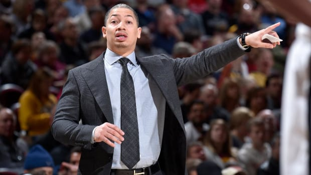 Report: Tyronn Lue Returning to Cavaliers Friday But Will Not Coach Against Pelicans - IMAGE