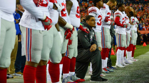 Steve Tisch: No Giants Players Will Be Punished For Anthem Protests--IMAGE