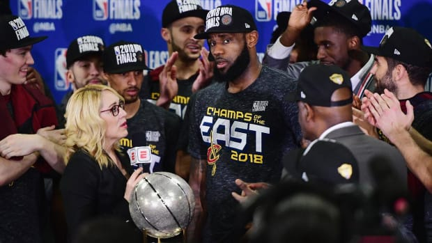 LeBron James Makes History With Eighth-Straight NBA Finals