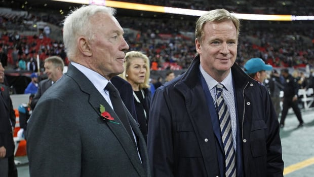 Report: Goodell Requesting More Than $2 Million From Jerry Jones to Cover Accrued Legal Expenses - IMAGE