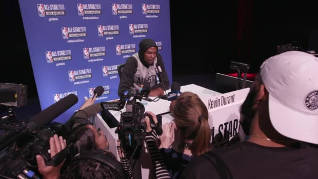 Kevin Durant: 'It Would Have Been Cool to Grow Up As a Player' in Seattle - IMAGE