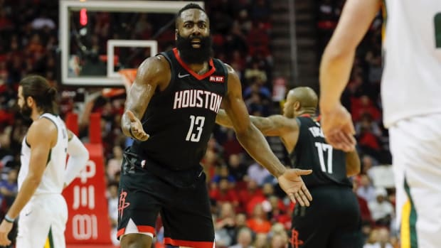 James Harden to Miss Rockets' Next Two Games With Hamstring Strain - IMAGE