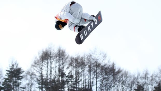 Shaun White Qualifies First for Men's Halfpipe With Near-Perfect Run - IMAGE