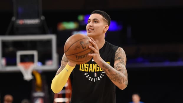 Kyle Kuzma: Lakers 'Gave Up' in 37-Point Loss to Thunder--IMAGE