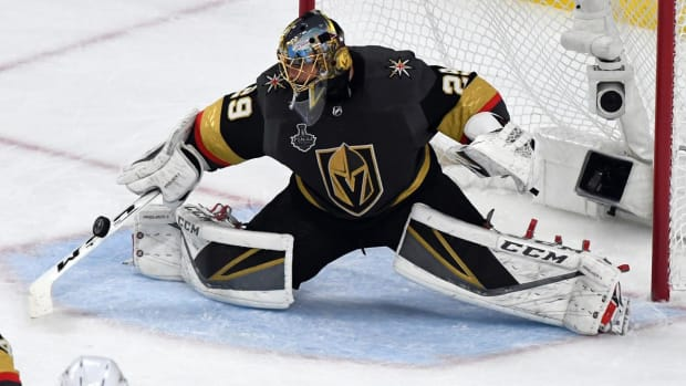 Golden Knights, Marc-Andre Fleury Agree to Contract Extension--IMAGE