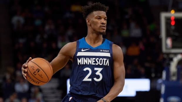 Report: Rockets Offered Timberwolves Four First-Round Picks for Jimmy Butler - IMAGE