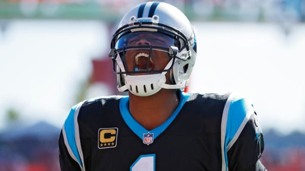 Kelvin Benjamin, Cam Newton Talk After Benjamin's Comments on Panthers  - IMAGE