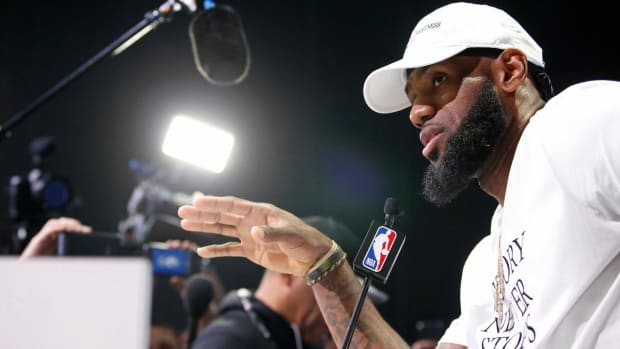 LeBron James: Will 'Definitely Not Shut Up and Dribble'--IMAGE