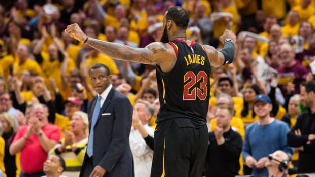 Cavaliers Sweep Raptors, Advance to Fourth-Straight Eastern Conference Finals