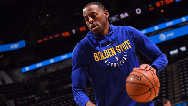 Warriors Forward Andre Iguodala Out for Game 7 Against Rockets