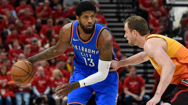 Has Paul George Already Made Up His Mind to Leave Oklahoma City?--IMAGE