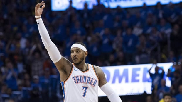 Report: Carmelo Anthony Verbally Agrees to Sign With Rockets - IMAGE