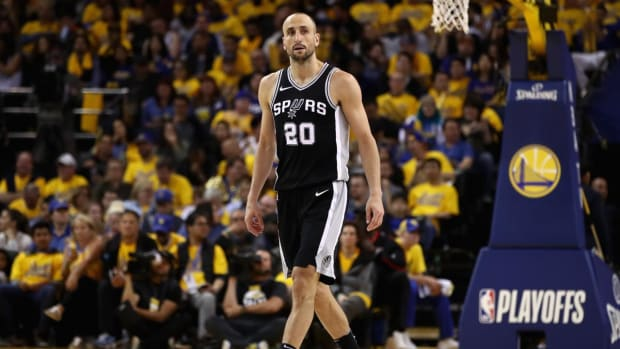 Report: Manu Ginobili Considering Retirement, To Meet With Popovich--IMAGE