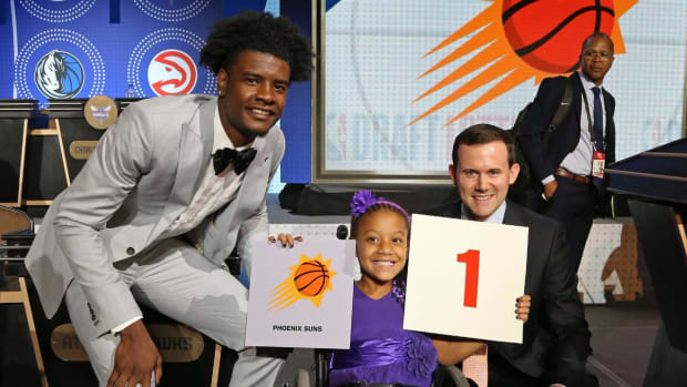 Suns Land No. 1 NBA Draft Pick, Lottery Results - IMAGE