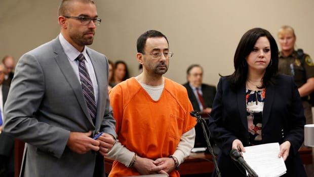 Larry Nassar Sentenced to 40–125 Years In Prison - IMAGE