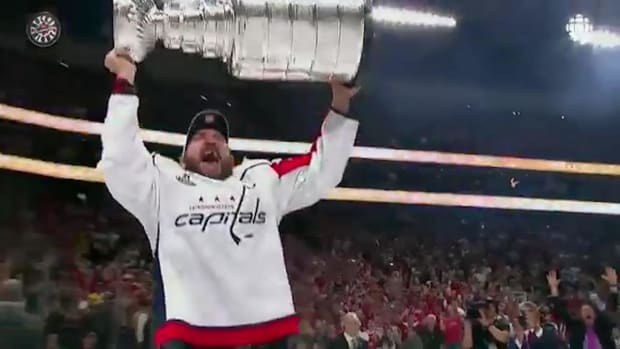 Alex Ovechkin, Washington Capitals Have Wild Four Days With Stanley Cup--IMAGE
