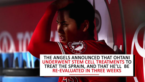 Angels Place Shohei Ohtani on Disabled List With UCL Sprain - IMAGE