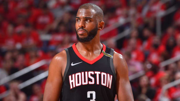 Rockets' Chris Paul Ruled Out For Game Six Against Warriors--IMAGE