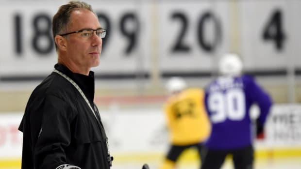 Los Angeles Kings Fire Head Coach John Stevens--IMAGE