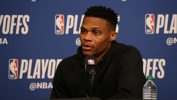 Russell Westbrook on Utah Fans: 'It's Truly Disrespectful'--IMAGE