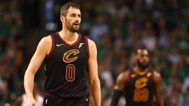 Cavaliers' Kevin Love Placed in Concussion Protocol, Ruled Out For Game 7--IMAGE