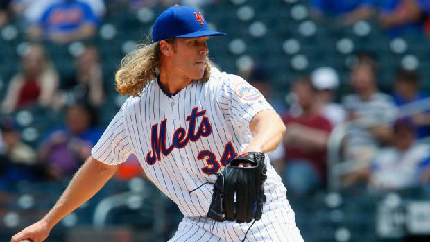 Mets' Syndergaard Placed on DL With Finger Strain